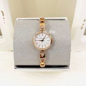 Michael Kors Jaryn Mercer Padlock Bracelet Watch